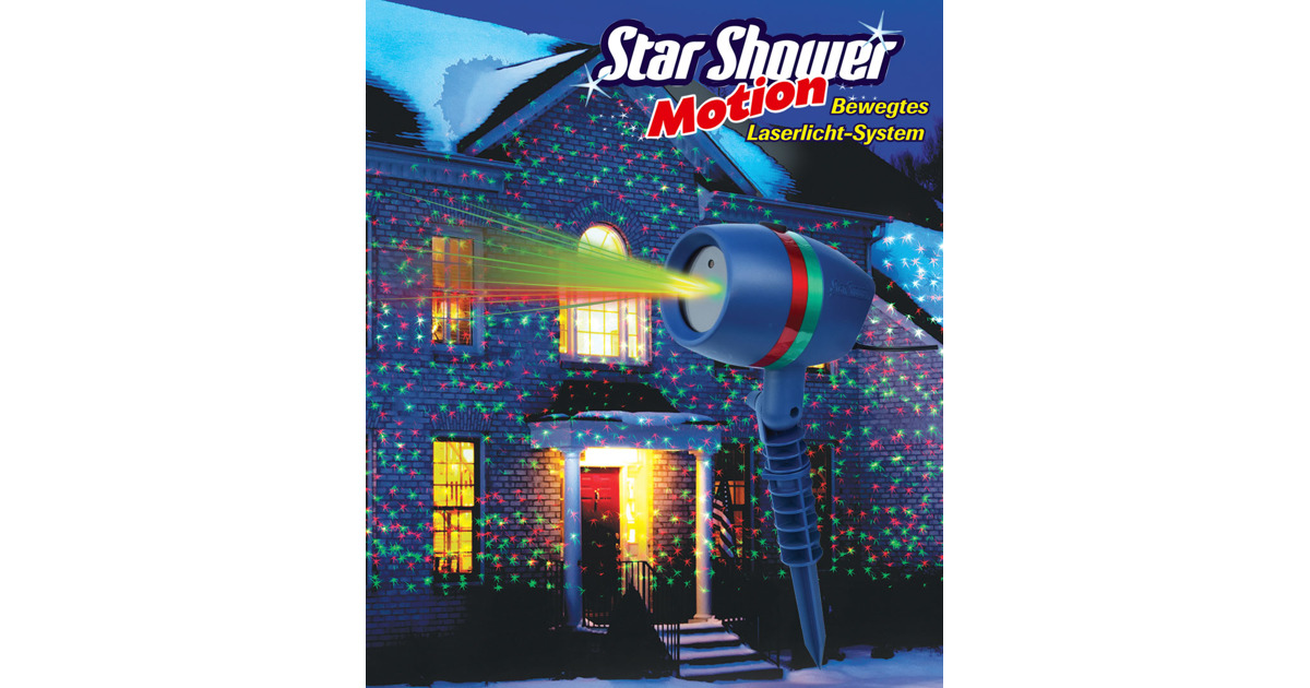 Star shower motion laserlicht system otto 39 s webshop ab for Star shower motion m6