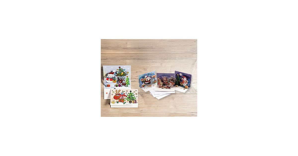 Weihnachtskarten mit pop up effekt 3 teilig aldi suisse - Aldi weihnachtskarten ...